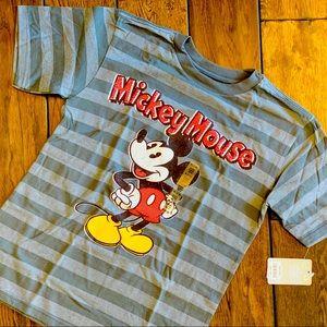 NWT Disney Boys' Mickey Mouse Tee
